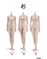 Xing Series 1/6 Scale SunTan Female Body in 3 Styles