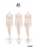 Xing Series 1/6 Scale Pale Female Body in 3 Styles