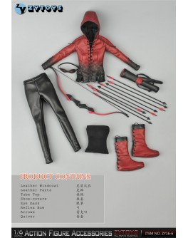 Zytoys 1/6 Scale Female Shooter Accessories Pack