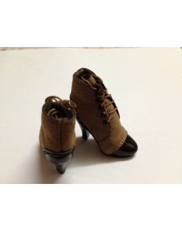 ZYToys 1/6 Scale Brown Short Boot