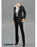 ZYTOYS 1/6 Scale Female Black Suit Set A