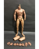 ZC Toys 1/6 Scale 2.0B African Muscular Figure Body