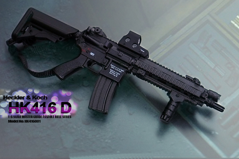 Hot Custom 1//6 Scale HK416C Rifle Set Not Only For John Wick Costume Toys